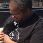 Abused Kitten has New Home with Rescuer